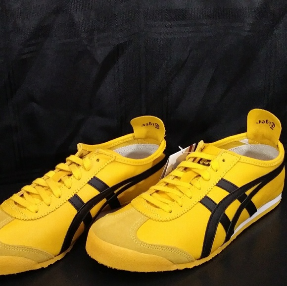 superior quality c944f 0eccc NIB! Onitsuka Tiger Mexico 66 Yellow/Black Unisex Boutique